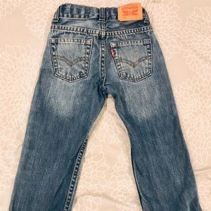 Levi 514 blue slim straight jeans